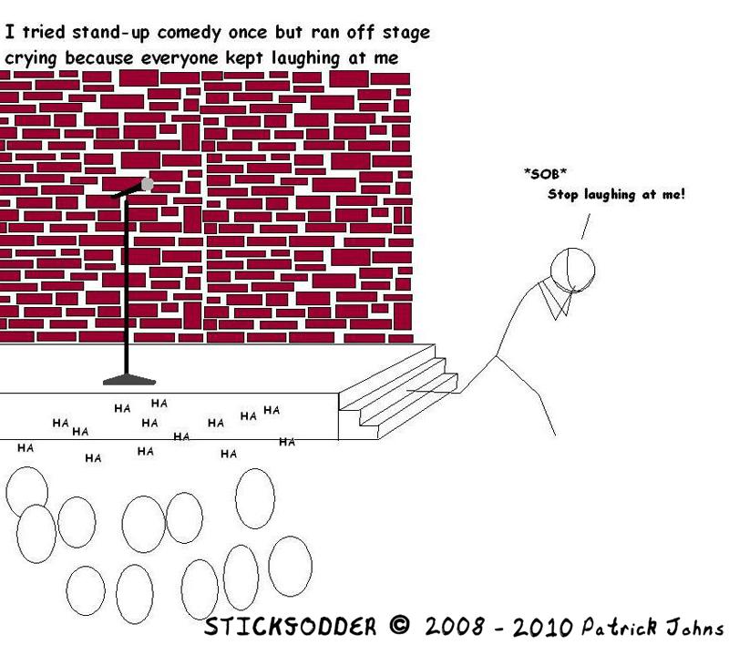 Anti-social comic