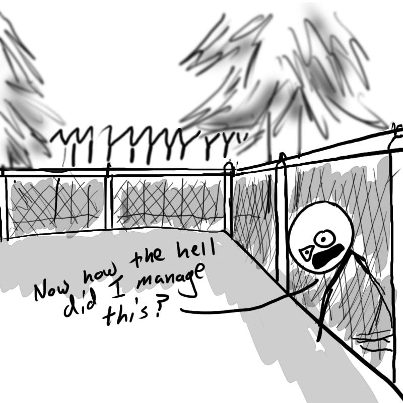 Chain Link Dunce