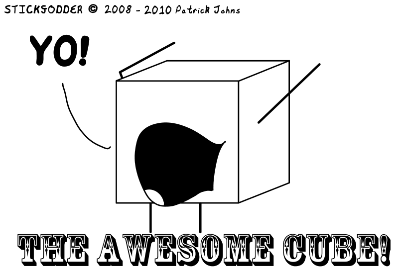 THE AWESOME CUBE!